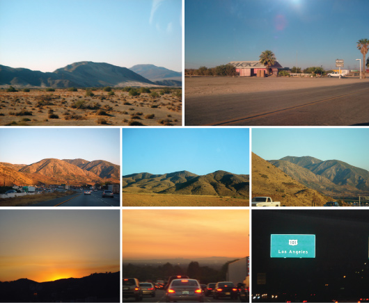 the drive from Vegas to LA