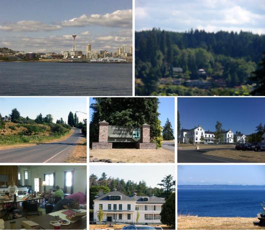 Seattle / Port Townsend / Fort Worden / Art Class