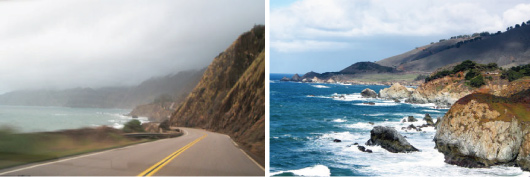 Pacific Coast Highway and Big Sur