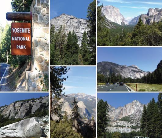 entering Yosemite Park