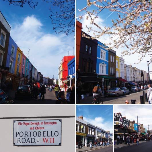 Portobello Rd & Camden Market