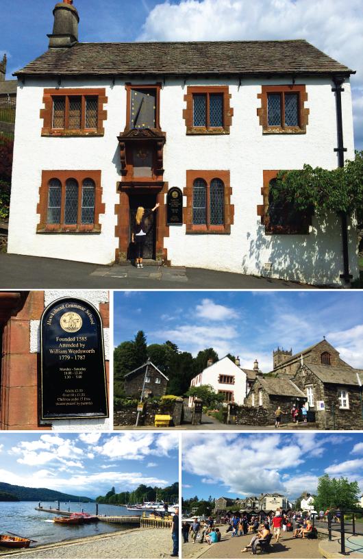 Hawkshead Grammar School from 1585